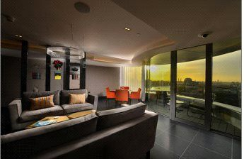 Thumbnail 1 bed flat for sale in The Corniche, Tower One, 20-21 Albert Embankment, London