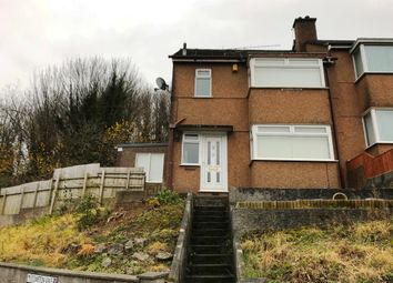 Thumbnail 3 bed semi-detached house to rent in Blandford Road, Plymouth