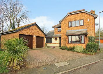 Thumbnail 4 bedroom detached house for sale in Tainty Close, Finedon, Wellingborough, Northamptonshire