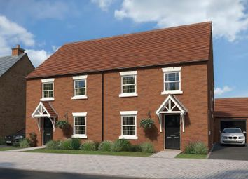 Thumbnail 4 bed semi-detached house for sale in The Leyes, Deddington, Banbury