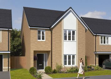 "Thumbnail 4 bed detached house for sale in ""The Glastonbury"" at Bassington Avenue"