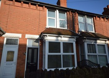 Thumbnail 2 bedroom terraced house to rent in Portland Road, West Bridgford, Nottingham