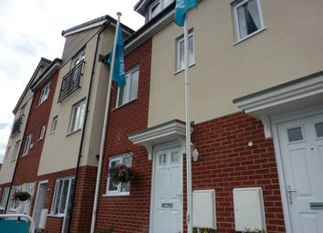 Thumbnail 3 bed town house to rent in Kiln View, Hanley, Stoke-On-Trent
