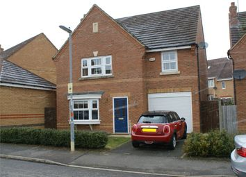Thumbnail 4 bedroom detached house for sale in Centurion Way, Wootton, Northampton
