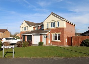 Thumbnail 3 bed link-detached house for sale in Penswick Road, Hindley Green, Wigan