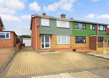 Thumbnail 3 bed semi-detached house for sale in Pankhurst Road, Hoo, Kent