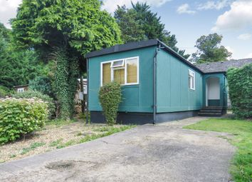 Thumbnail 1 bedroom mobile/park home for sale in Bushey Hall Park, Bushey Hall Drive, Bushey