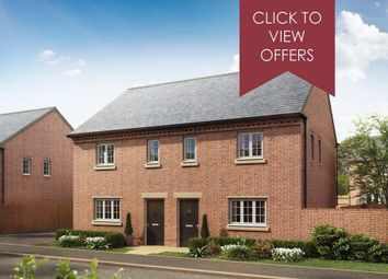 """Thumbnail 3 bed semi-detached house for sale in """"Archford"""" at Shrewsbury Court, Upwoods Road, Doveridge, Ashbourne"""