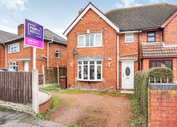 Thumbnail 3 bedroom semi-detached house for sale in Abbotts Street, Walsall