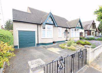 Thumbnail 4 bed detached bungalow for sale in Gyllyngdune Gardens, Seven Kings, Essex