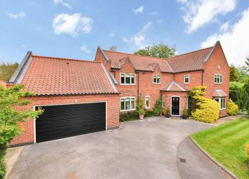 Thumbnail 4 bed detached house for sale in Old Hall Close, Wyke Lane, Farndon, Newark