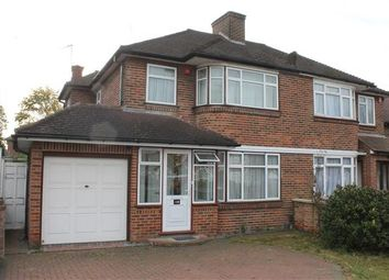 Thumbnail 4 bed semi-detached house to rent in Beverley Drive, Edgware
