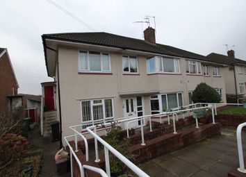Thumbnail 2 bed flat for sale in Ebenezer Drive, Rogerstone, Newport