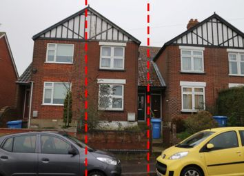 Thumbnail 3 bed terraced house for sale in 7 Crome Road, Norwich, Norfolk