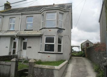Thumbnail 3 bed semi-detached house for sale in Wellington Road, St. Dennis, St. Austell