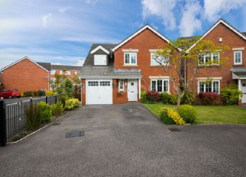 Thumbnail 5 bed detached house for sale in Brigantine Drive, Newport, Gwent .