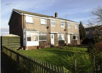 Thumbnail 3 bed terraced house for sale in Aln Court, Ellington, Morpeth