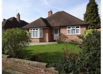 Thumbnail 3 bed detached bungalow for sale in Kemble Drive, Bromley