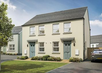 "Thumbnail 2 bed semi-detached house for sale in ""Wilford"" at Redmoor Close, Tavistock"