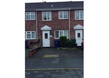 Thumbnail 2 bed town house for sale in Parva Court, Uttoxeter