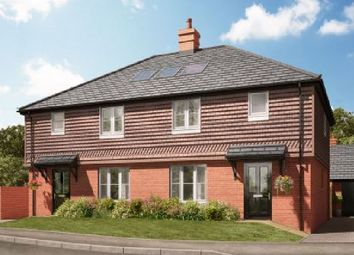 Thumbnail 3 bed semi-detached house for sale in Hole Lane, Bentley, Farnham, Surrey