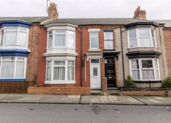 Thumbnail 4 bed terraced house for sale in Clifton Road, Darlington, County Durham