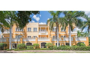 Thumbnail 2 bed town house for sale in 627 6th Ave S B-302, Naples, Fl, 34102