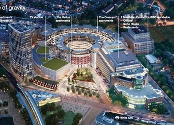 Thumbnail 1 bed property for sale in Bbc Television Centre, Wood Lane, London