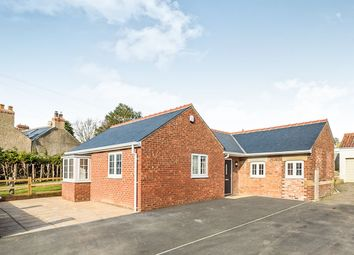 Thumbnail 2 bed bungalow for sale in Weaverthorpe, Malton, North Yorkshire