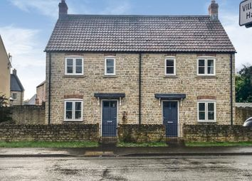 Thumbnail 2 bed semi-detached house for sale in Easton Hill, Easton, Wells
