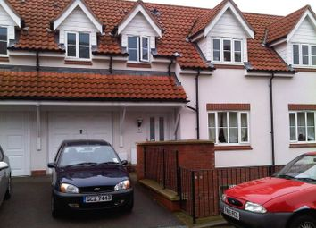 Thumbnail 1 bedroom terraced house to rent in Thacker Way, Norwich