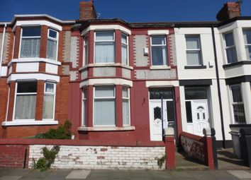 Thumbnail 4 bed terraced house for sale in Claughton Drive, Wallasey
