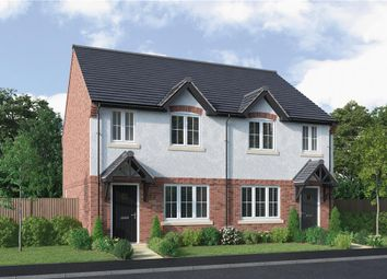 "Thumbnail 3 bed semi-detached house for sale in ""Chawton"" at Park Lane, Castle Donington, Derby"