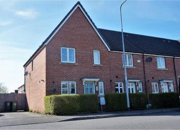 Thumbnail 3 bedroom end terrace house for sale in Ashbourn Way, Cardiff