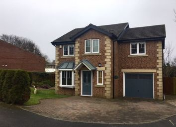 Thumbnail 4 bed detached house for sale in Bells Wood Court, Consett