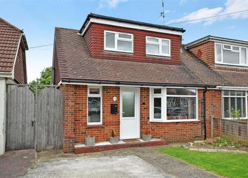 Thumbnail 2 bed semi-detached house for sale in Prince Avenue, Lancing, West Sussex