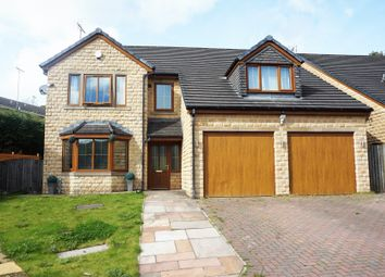 Thumbnail 5 bed detached house for sale in Lynn's Court, Weir, Bacup