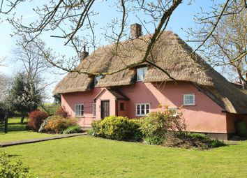 Thumbnail 3 bed cottage for sale in Buxhall, Stowmarket, Suffolk