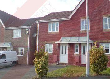 Thumbnail 2 bed semi-detached house to rent in Heol Barcud, Birchgrove, Swansea