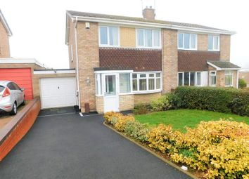 Thumbnail 3 bed semi-detached house for sale in Crab Lane, Trinity Fields, Stafford