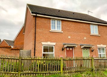 Thumbnail Semi-detached house for sale in Goosander Road, Stowmarket