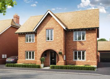 "Thumbnail 4 bedroom detached house for sale in ""Winstone"" at Gimson Crescent, Tadpole Garden Village, Swindon"