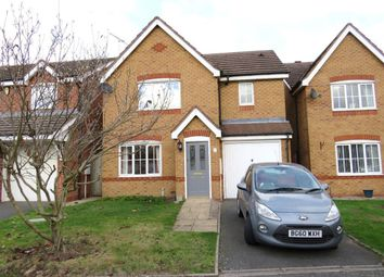 Thumbnail 3 bed detached house to rent in Churchward Drive, Stretton, Burton-On-Trent