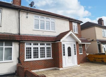 Thumbnail 6 bed semi-detached house for sale in Willowbrook Road, Staines-Upon-Thames, Surrey