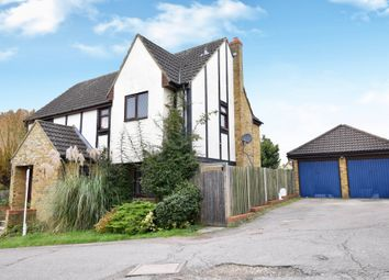 Thumbnail 4 bed detached house for sale in Conifer Walk, Chells Manor, Stevenage