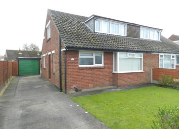 Thumbnail 3 bed semi-detached bungalow for sale in Westerlong, Lea, Preston