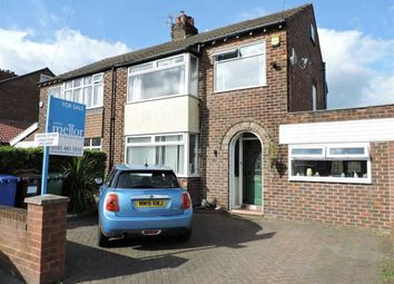 Thumbnail 3 bed semi-detached house for sale in Stainburne Road, Offerton, Stockport