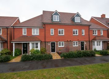 Thumbnail 4 bed terraced house to rent in Brookfield Drive, Horley, Surrey