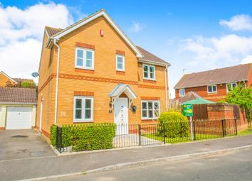Thumbnail 4 bed detached house for sale in Ffordd Daniel Lewis, St. Mellons, Cardiff