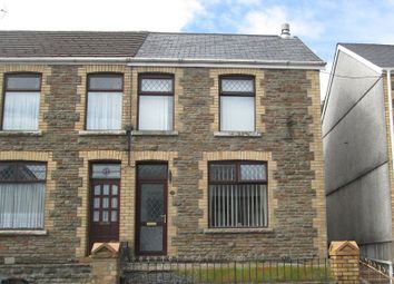 Thumbnail 3 bed semi-detached house for sale in Maesteg Road, Maesteg, Bridgend.